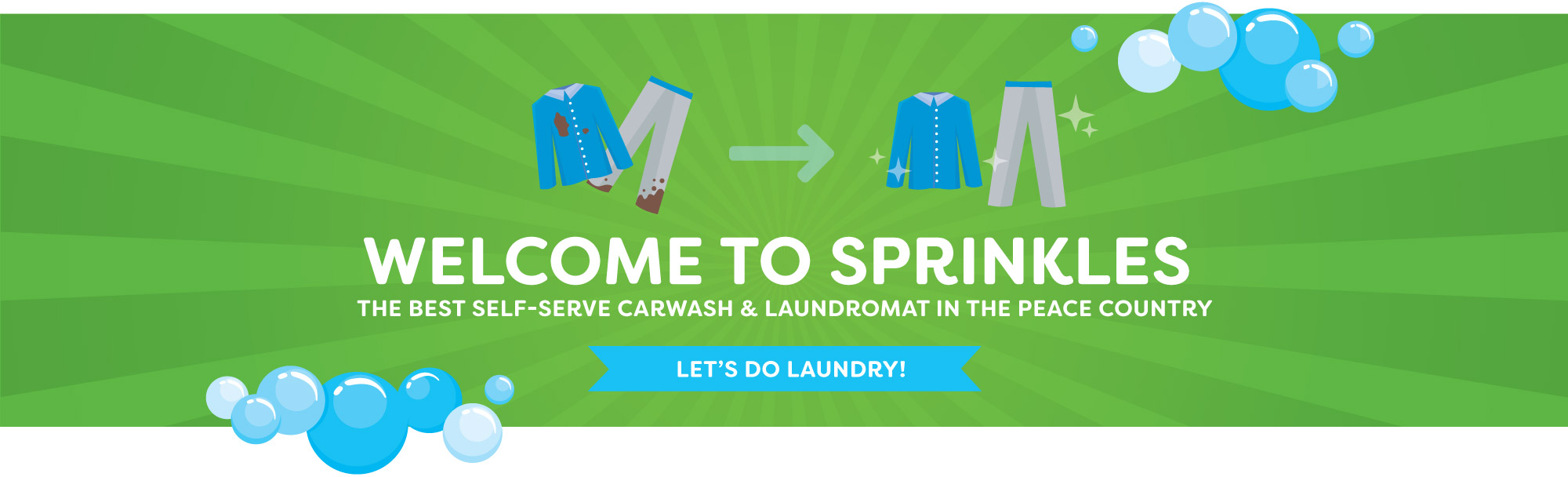 Welcome - Laundry